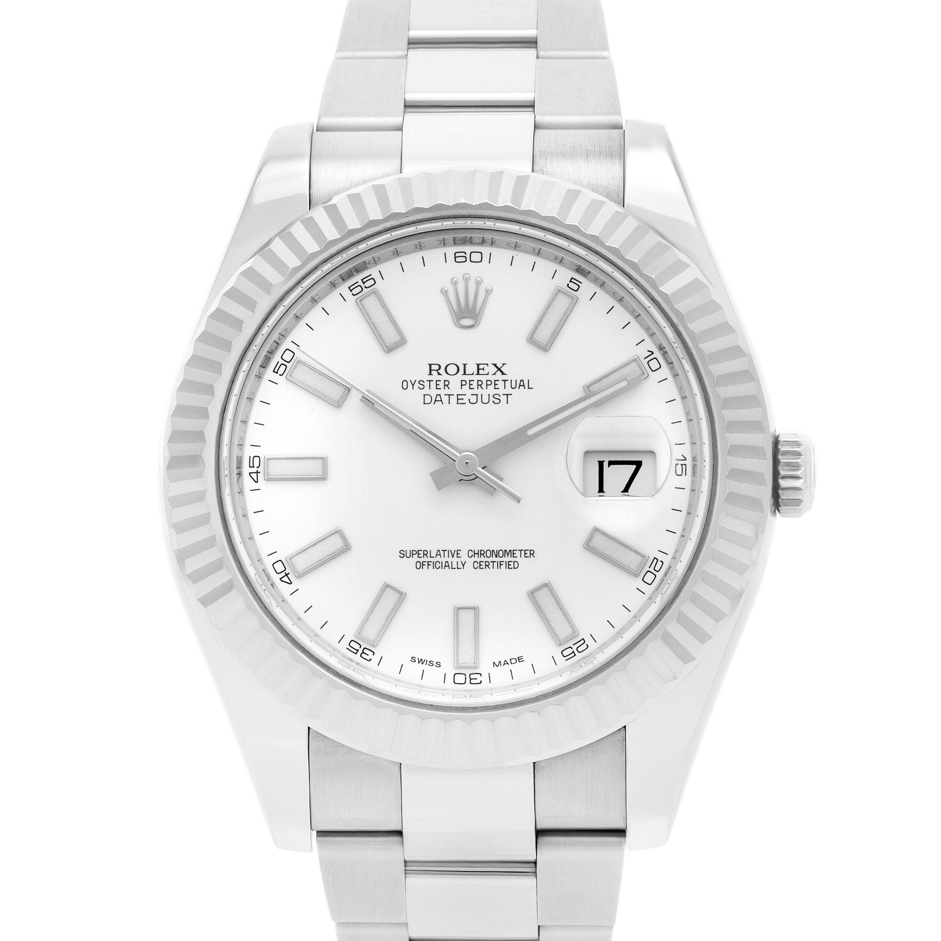 Pre owned Rolex Datejust II 116334 stainless steel 41mm