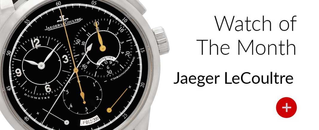 jaeger lecoultre duometre chronograph