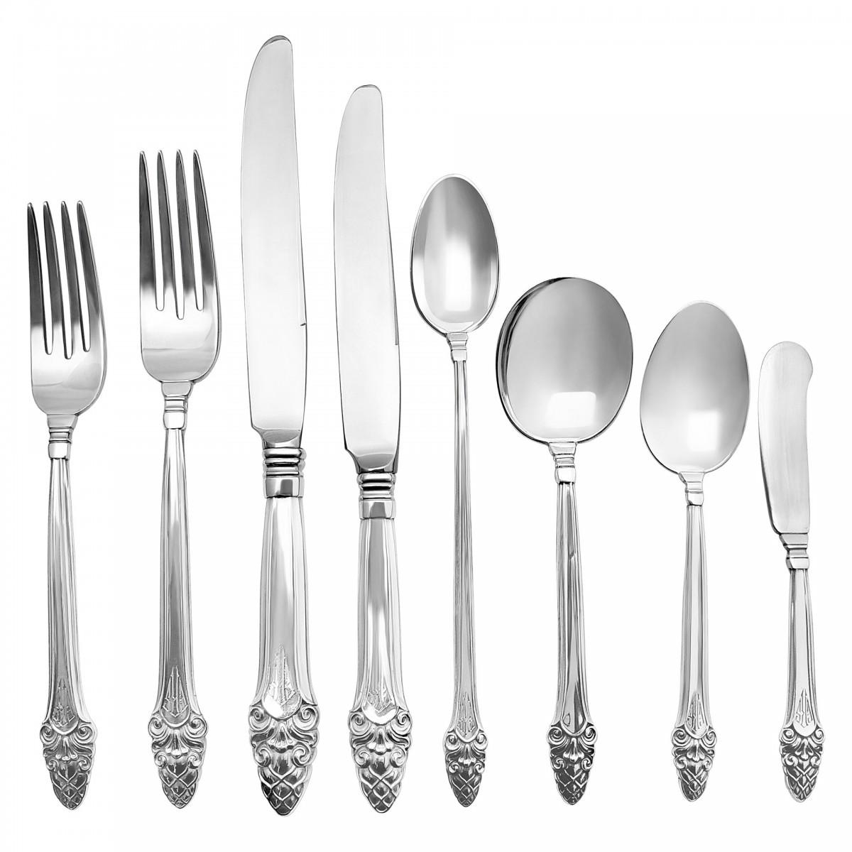 "Royal Oak by Gorham Sterling Silver Dinner Fork 7 3//4/"""