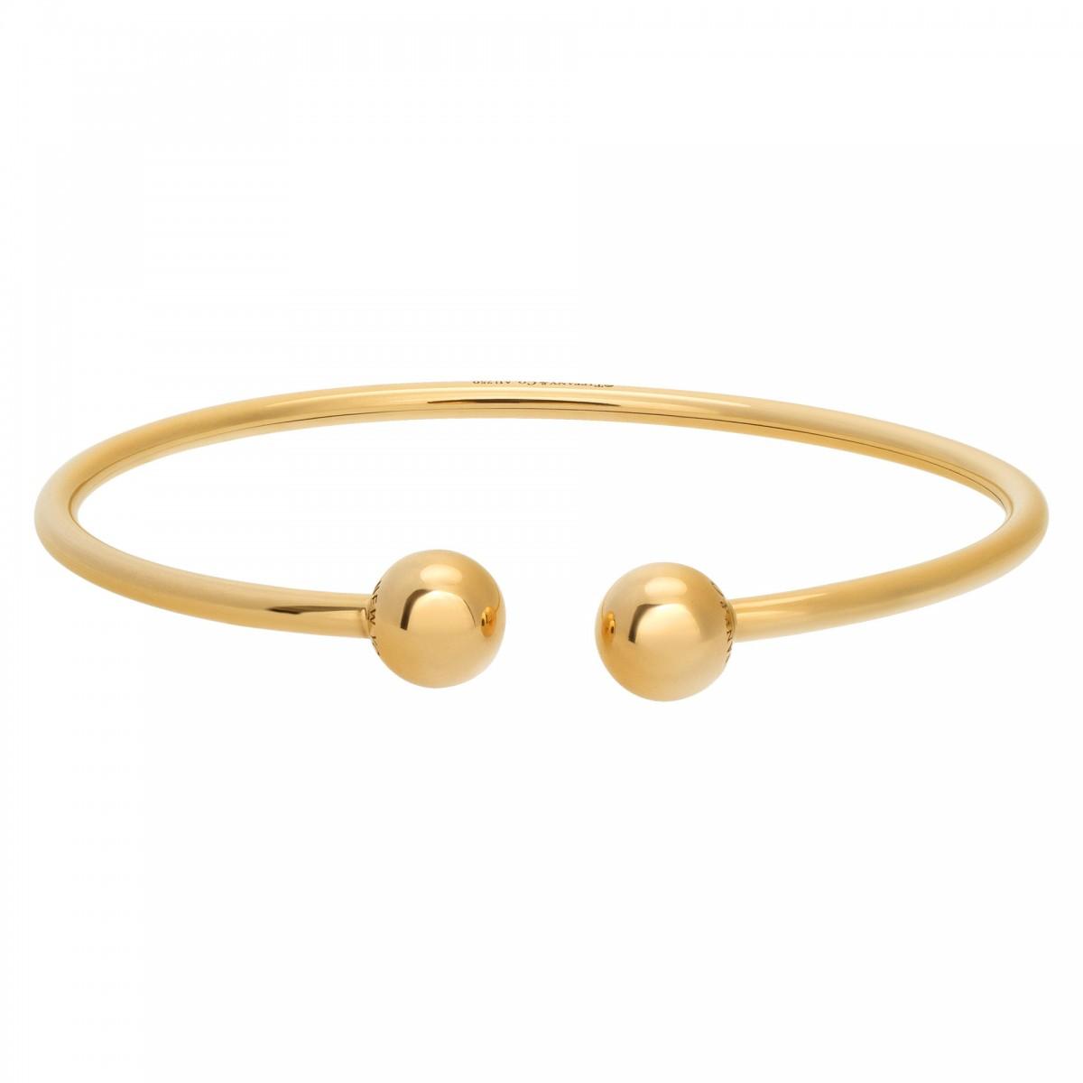 30b3efd7b Tiffany & Co HardWear Wire Ball bracelet in 18k yellow gold | Gray & S