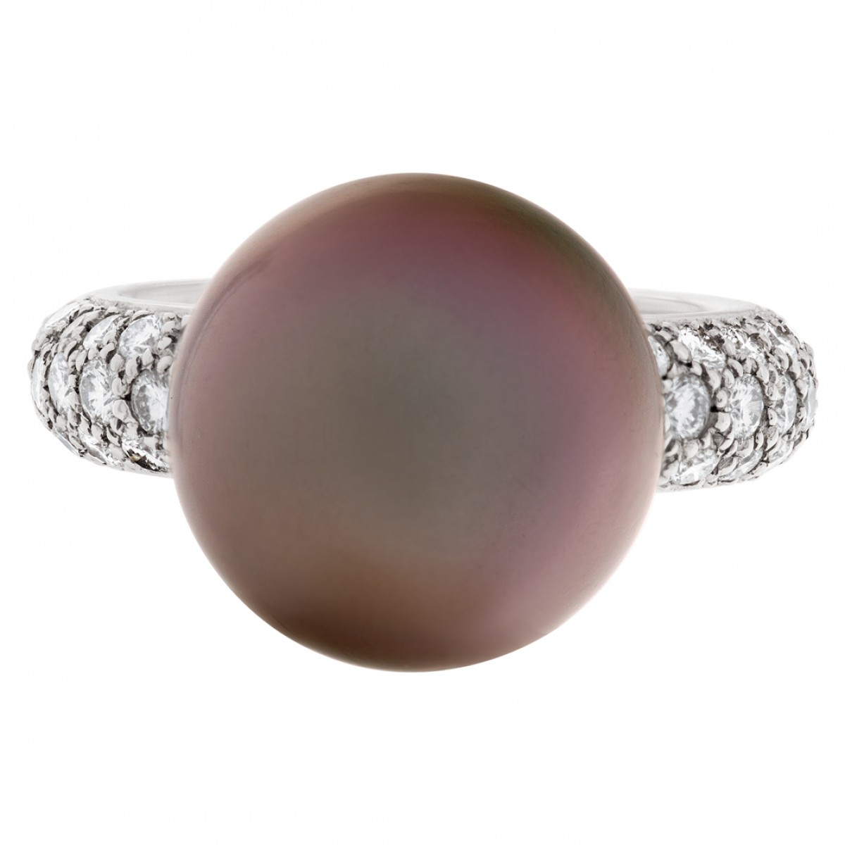 s512459 cartier tahitian black pearl and ring