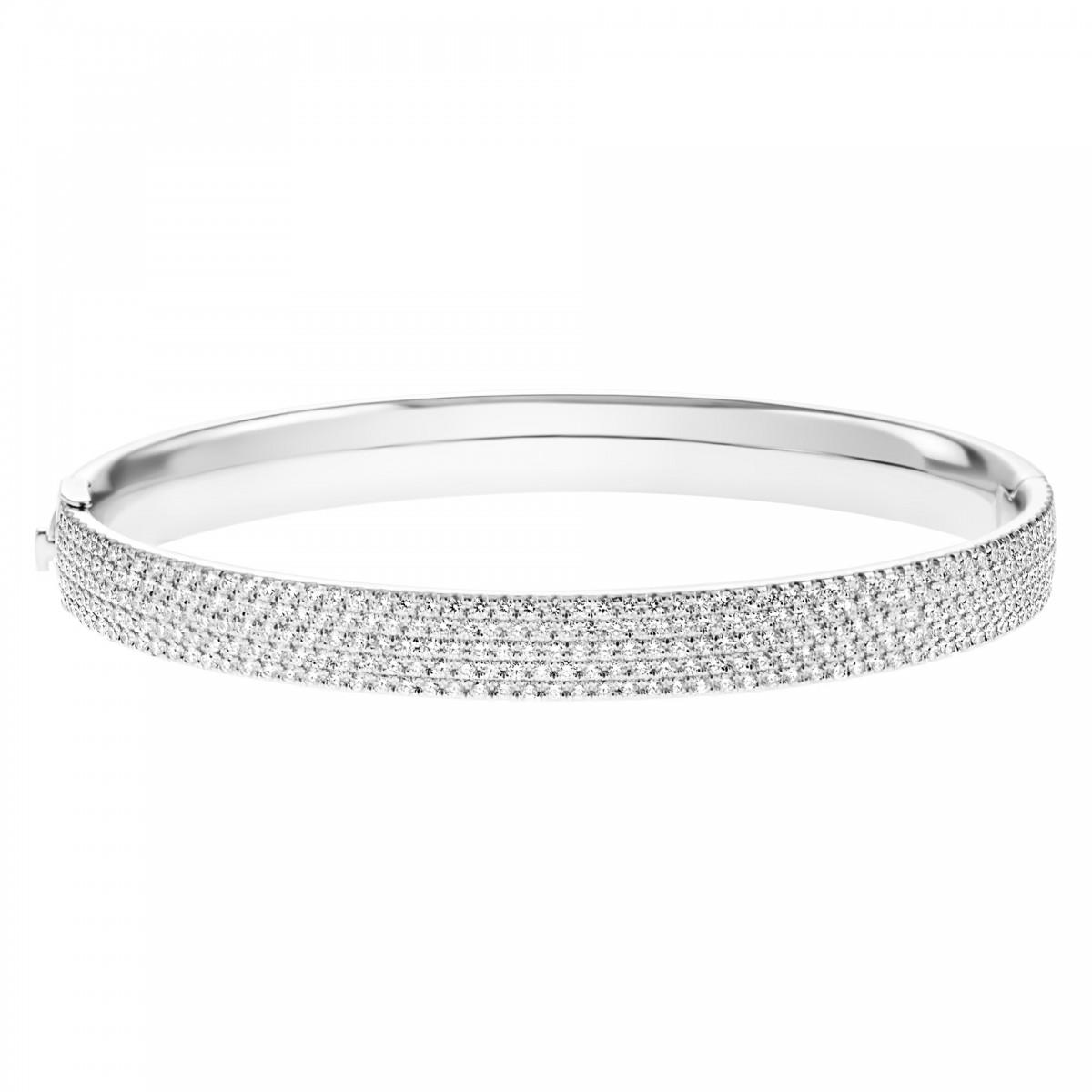14bfc4b4b Tiffany & Co Metro diamond bangle in 18k white gold | Gray & Sons Jewe