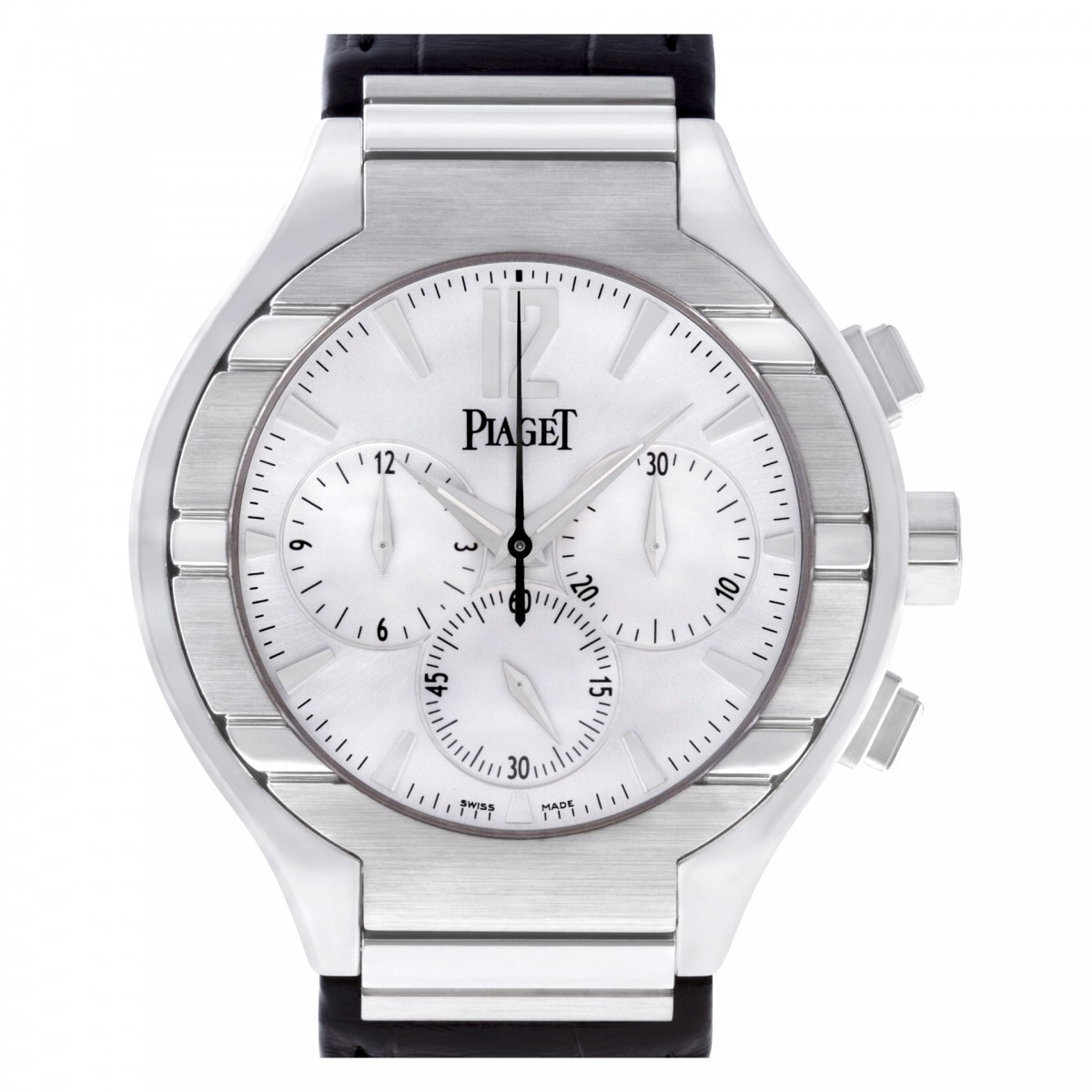 6b2169956c0 Pre-owned Piaget Polo GOA29017 18k white gold Silver dial 40mm auto wa