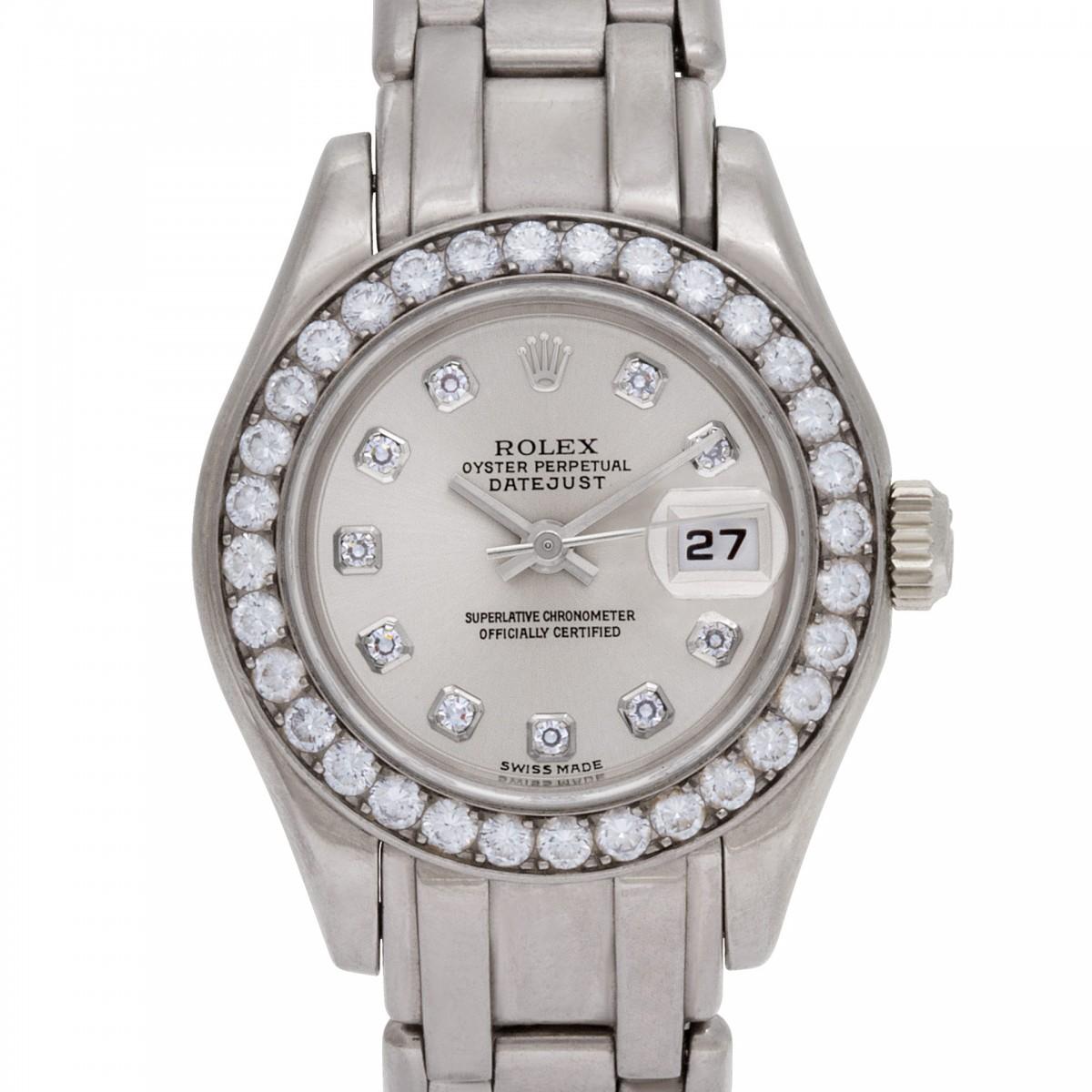Ladies Rolex Pearlmaster 28mm 69299