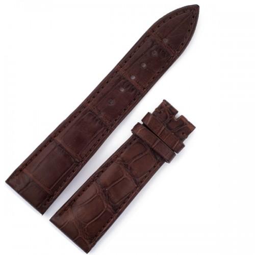 Franck Muller brown crocodile strap (22x18)