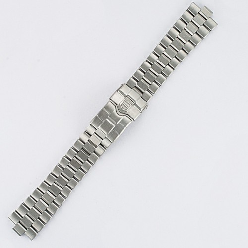 "Men's Tag Heuer stainless bracelet 4000 series w/ fliplock buckle 7"" long 19mm"