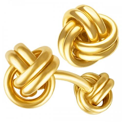 Barbell Knot Cufflinks