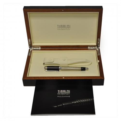 Limited edition Tibaldi for Bentley Mulsanne fountain pen with 18k nib 21/90.