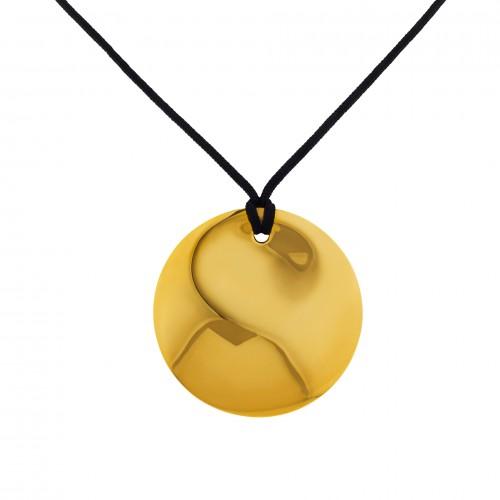 Tiffany & Co. Elsa Peretti circle pendant on a cord
