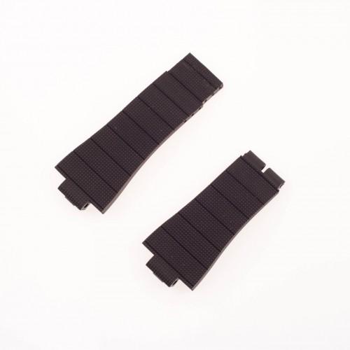 Roger Dubuis Acquamare dark brown rubber strap (27x21)