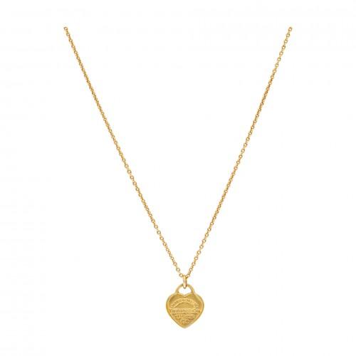 "Tiffany & Co ""Return to Tiffany"" Heart pendant and chain"