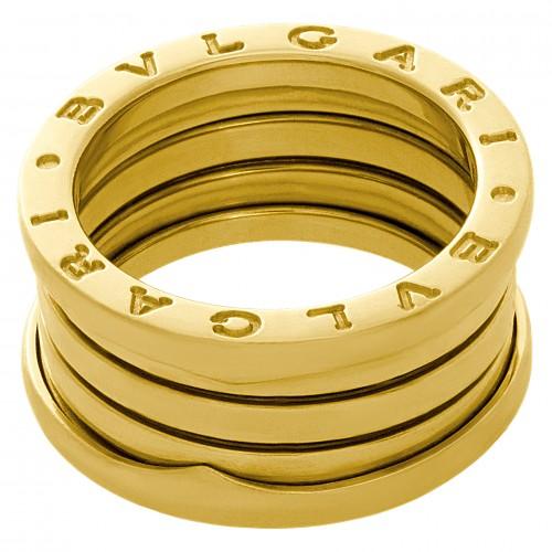 """Bvlgari """"B .Zero 1"""" 18k yellow gold band"""