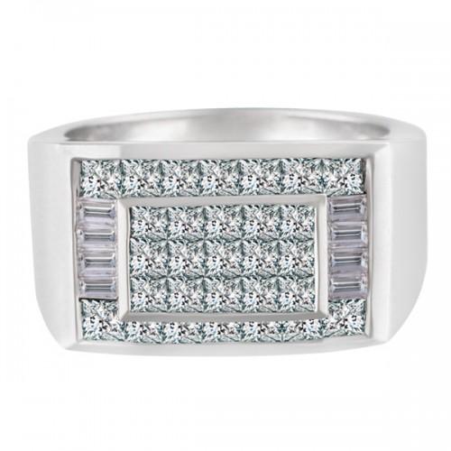 Chanel Set Diamond Ring in 18k white gold