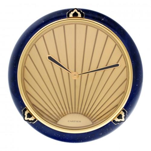 Cartier Must de Cartier clock