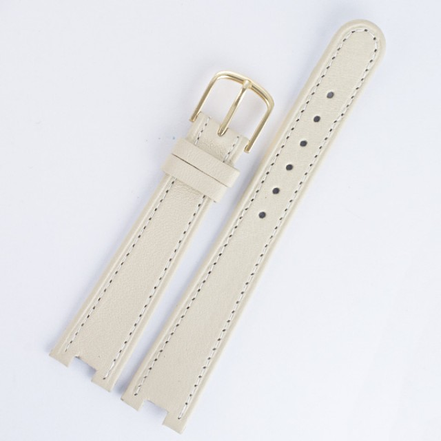 Tissot Beige Leather Strap. image 1