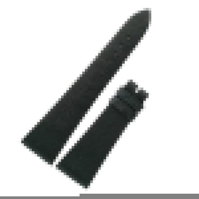 Corum black ostrich strap (14x22) image 1
