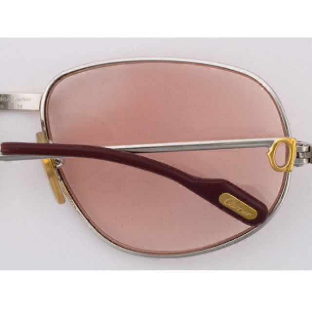 Cartier frames in gold plate image 2