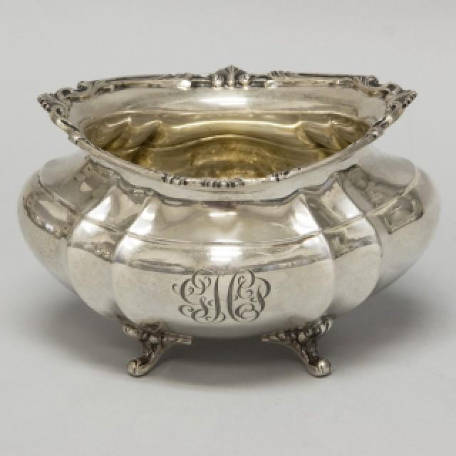 Reed & Barton Sterling Hampton Court Gorham 6 piece Tea Set over 121 oz troy. image 4