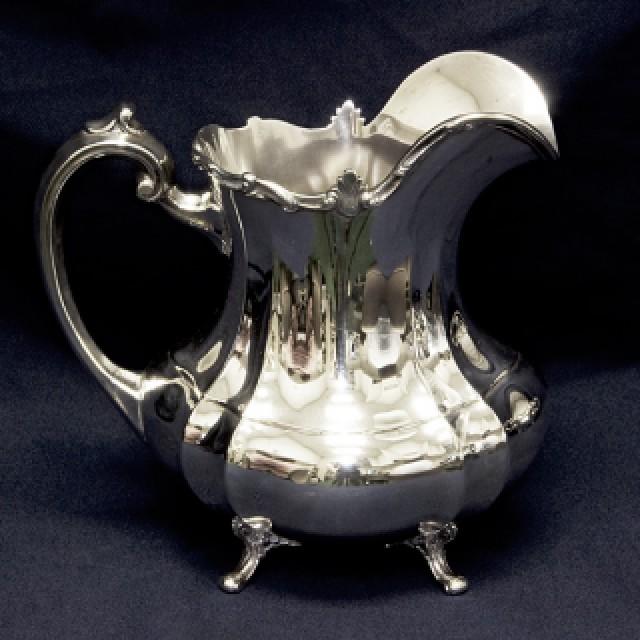 Reed & Barton Sterling Hampton Court Gorham 6 piece Tea Set over 121 oz troy. image 6