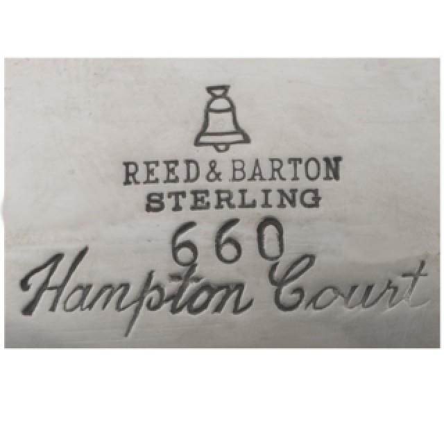 Reed & Barton Sterling Hampton Court Gorham 6 piece Tea Set over 121 oz troy. image 7