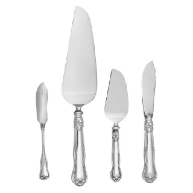 "Tiffany & Co ""Provence"" Sterling Sliver Flatware Set. 6 pc service for 8 -  60 total pcs. image 4"