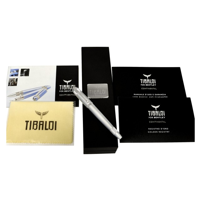 Tibaldi for Bentley Continental ball point pen. Limited edition #510/999. image 1