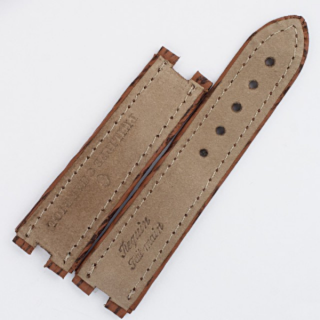 Philippe Charriol brown shark skin strap (18x18) image 2