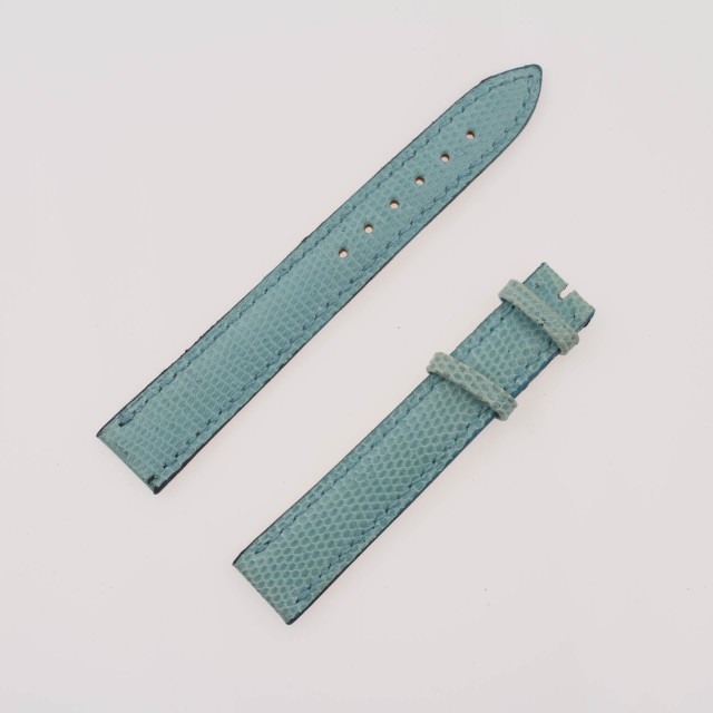 Chopard Used Blue Leather Strap (16 X 14) image 1