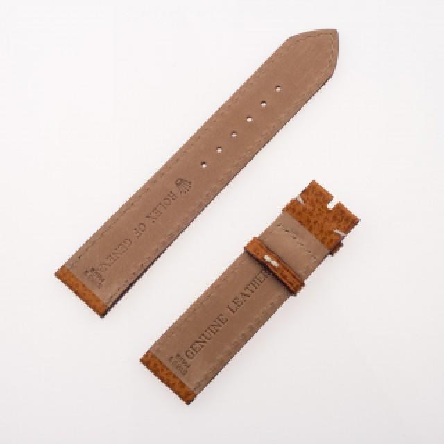 Rolex watch genuine leather strap image 1