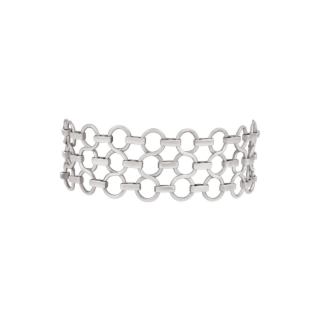 Tiffany & Co sterling silver link bracelet image 2