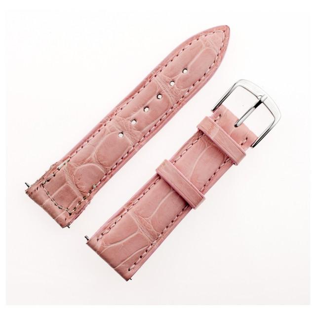 Franck Muller pink alligator leather strap (18mm x 17mm) image 1