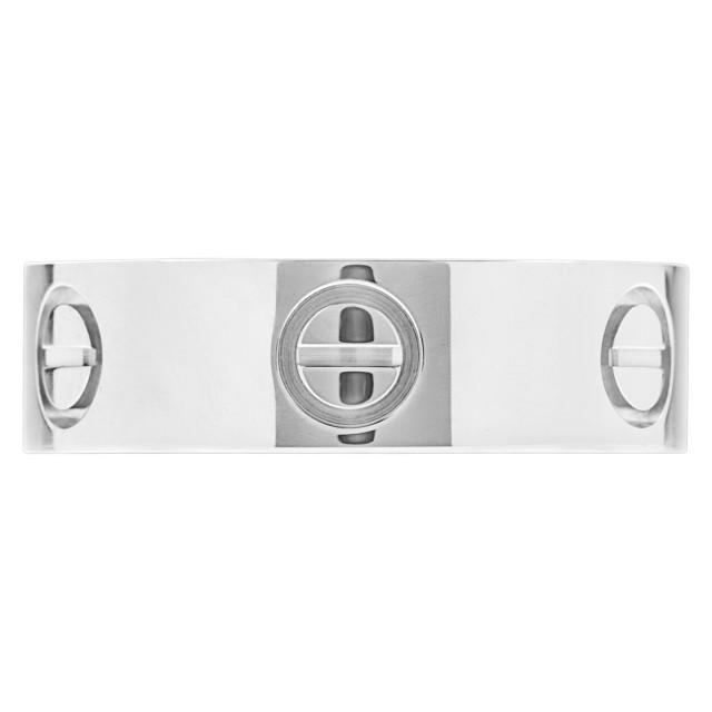 Cartier LOVE ring in platinum image 1