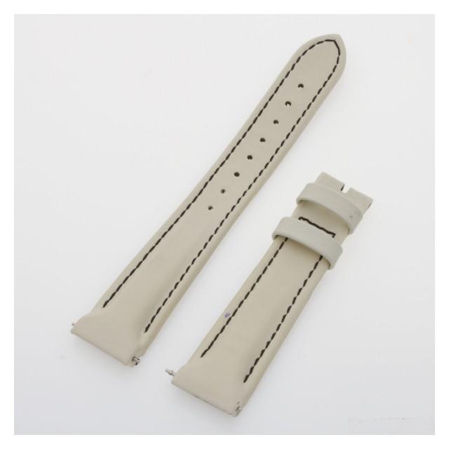Franck Muller white calfskin leather strap (16x14) image 1
