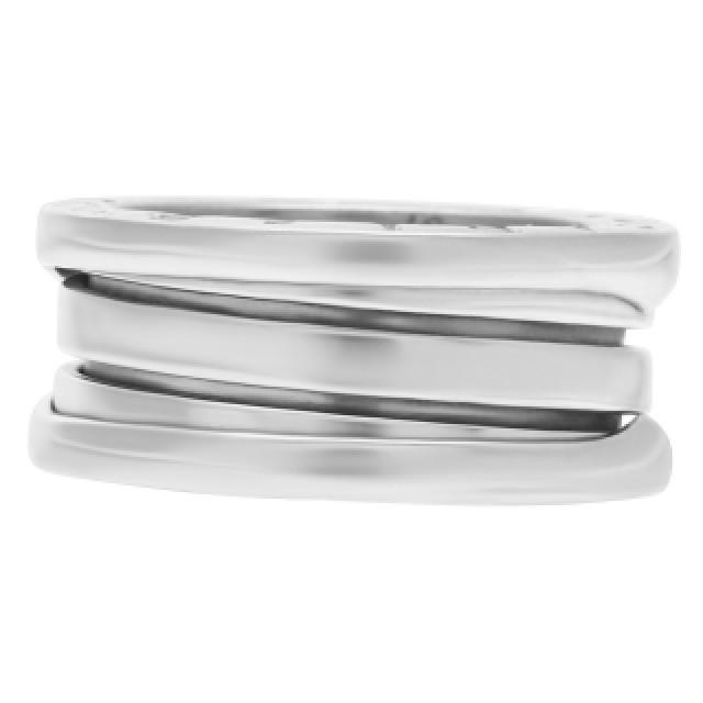 Bvlgari B-Zero 1 3-Band ring in 18k white gold image 3