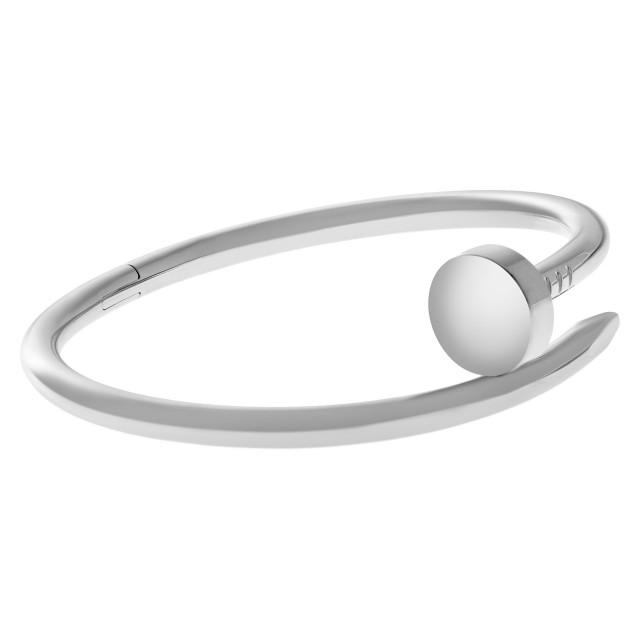 Juste Un Clou Cartier Nail bracelet 18k white gold image 1