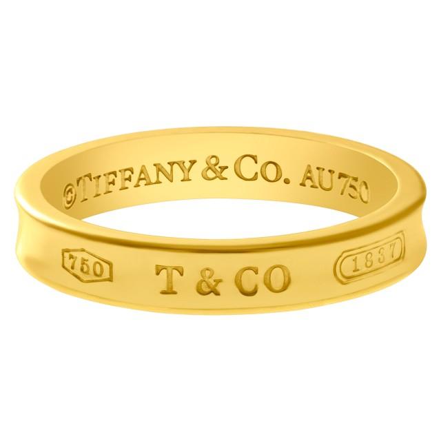 abaae5f97 Tiffany & Co. 1837 narrow band in 18k | Gray & Sons Jewelers
