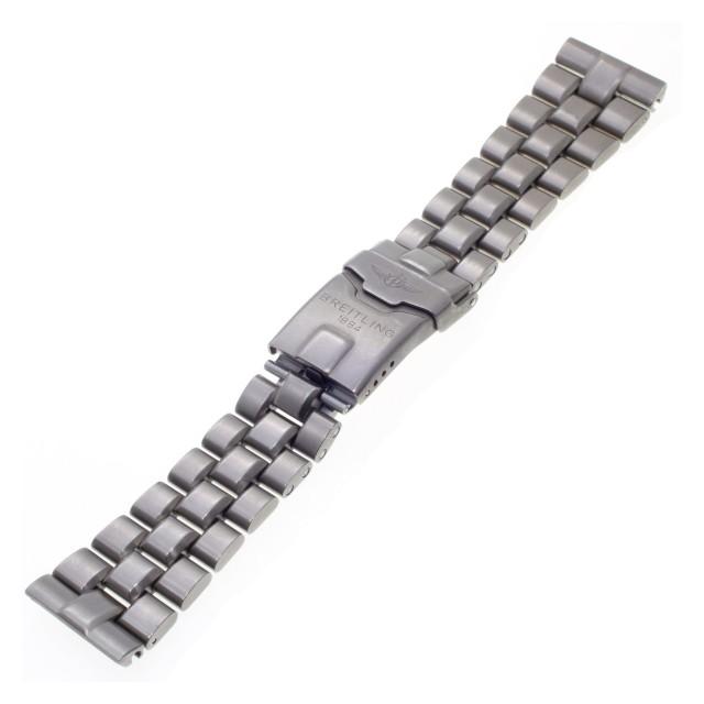 "Breitling titanium band 22 mm x 18mm, 6.5"" length. image 1"