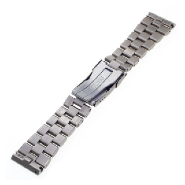 "Breitling titanium band 22 mm x 18mm, 6.5"" length. image 2"