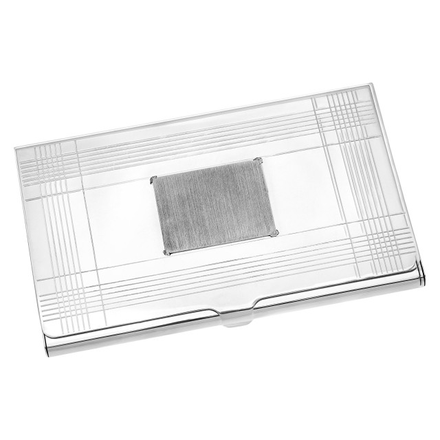 Tiffany & Co. Sterling Silver Business Card Holder image 1