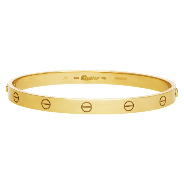 Cartier Love bracelet in 18k yellow gold image 1