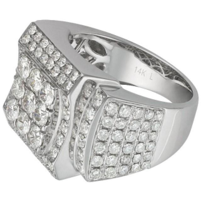 Mens Diamond Ring image 2