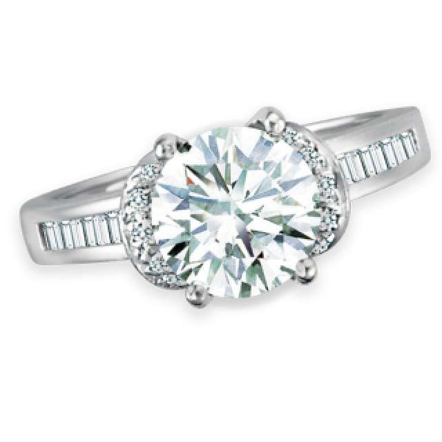 GIA Certified Diamond Ring - 1.88 cts (O-P Color, VS2 Clarity) image 2