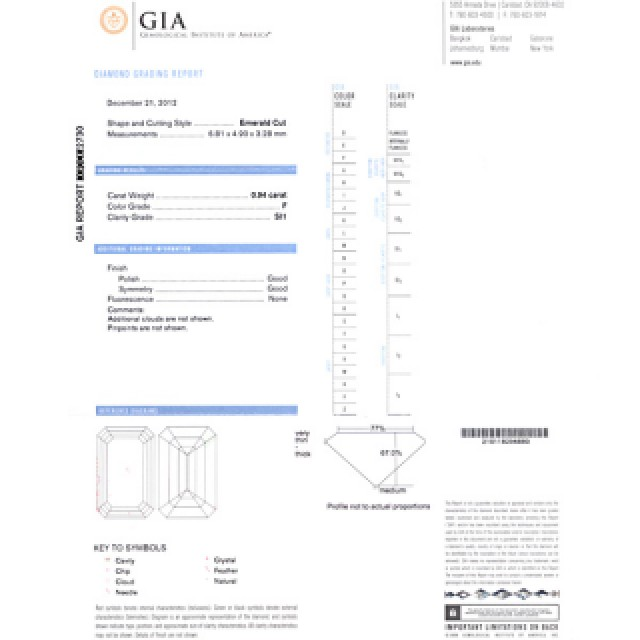 GIA Certified Three Stone Emerald Cut Diamond Ring set in Platinum with 3.04 carats total . Size 5.5 image 7