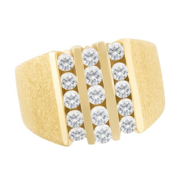 Diamond ring in 14k image 1
