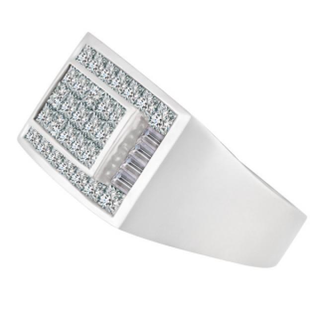 Chanel Set Diamond Ring in 18k white gold image 2