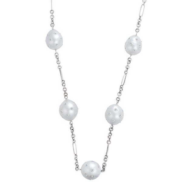 South Sea Pearls in 14k white gold image 1