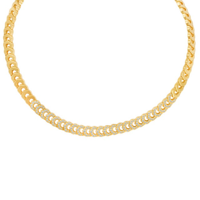 "Cartier ""C de Cartier"" diamond necklace in 18k image 1"