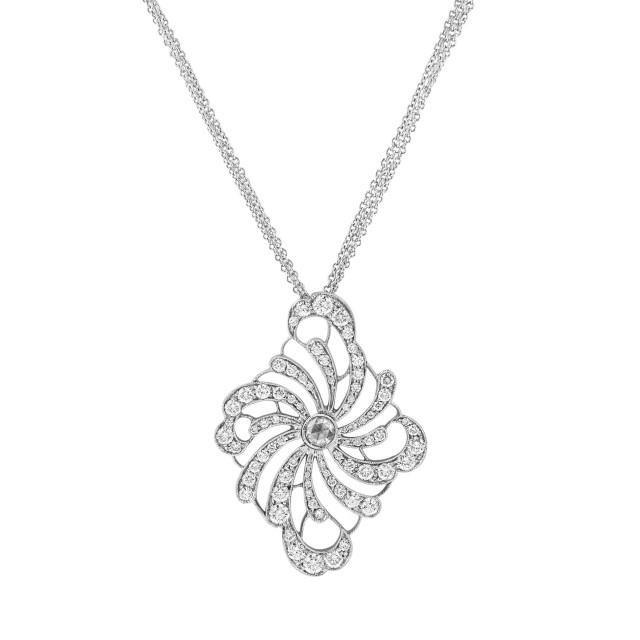 Stefan Hafner Necklace in 18k white gold image 1
