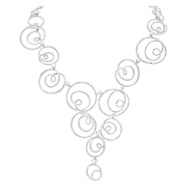 Stefan Hafner diamond circles of love with 14.31 carat in diamonds (G-H, VS) image 1