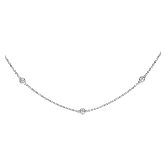 Diamonds by the yard in 14k white gold with 1.05cts in diamonds image 1